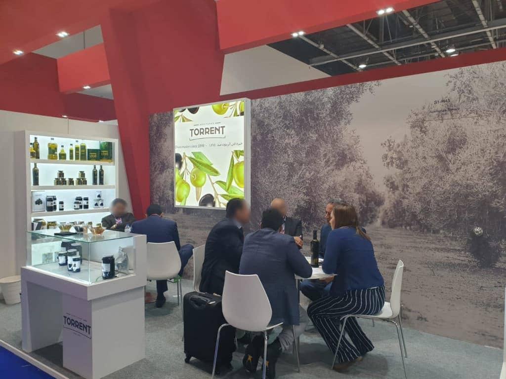 Torrent olives at the Gulfood fair (Dubai) 2019