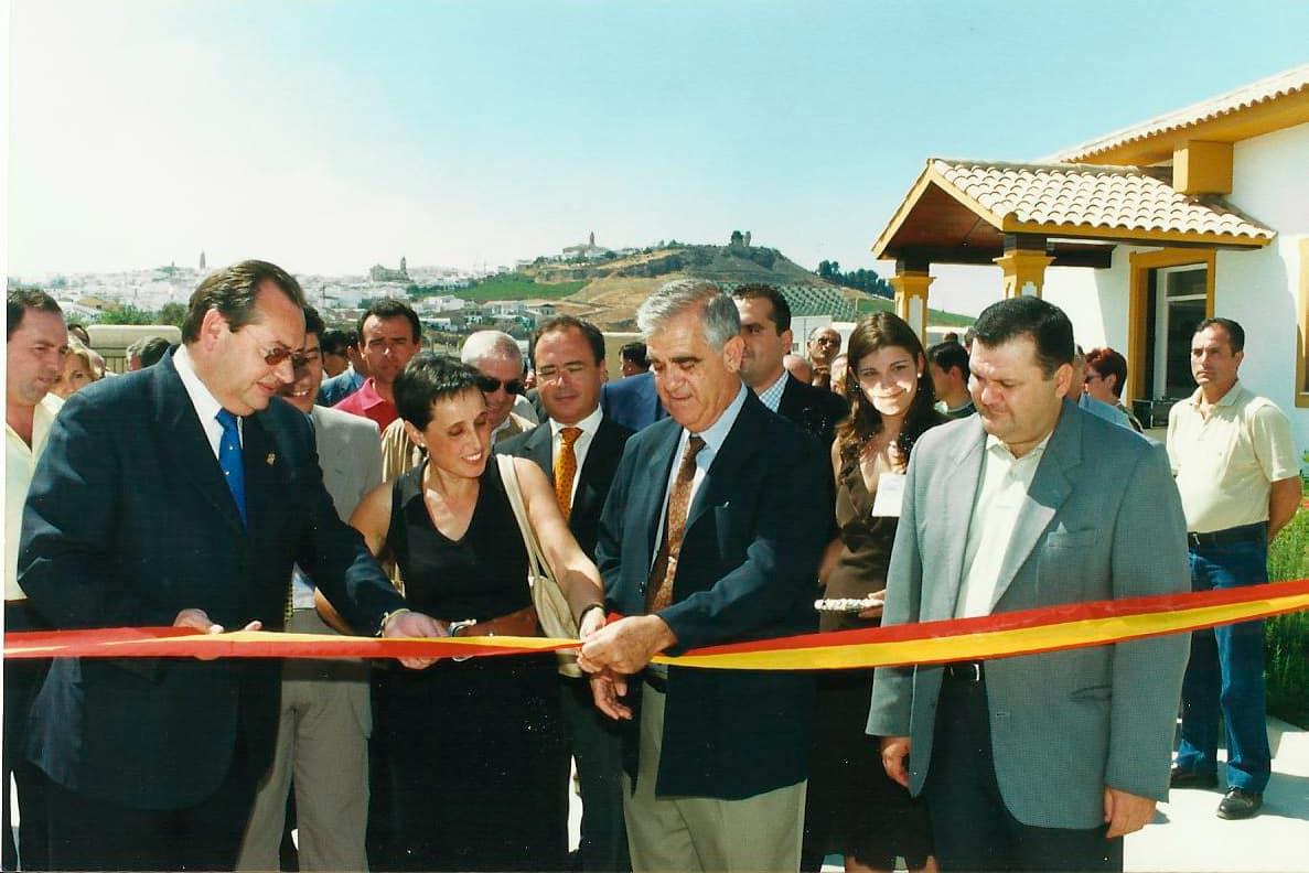 Inauguración de la fábrica de Torrent en Aguilar de la Frontera