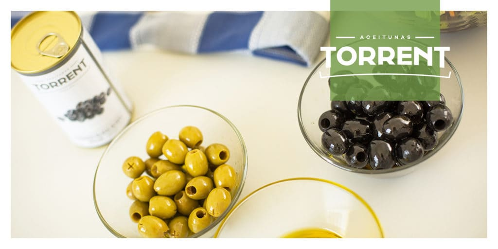 Torrent Olives ready to eat