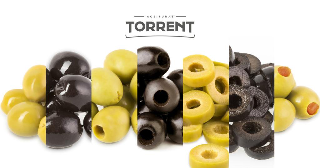 tipos de aceitunas Torrent