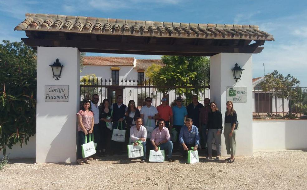 Los compradores latinoamericanos en nuestra finca Patamulo