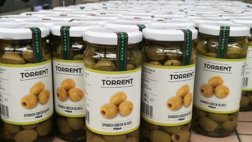 quality products of Aceitunas Torrent